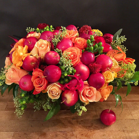 Perfect Autumn Flower Arrangement - same day flower delivery and gift crate basket delivery Manhattan NYC New York 10019 10022