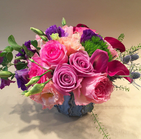 Ella Flower Arrangement - upper west side - same day flower delivery and gift crate delivery Manhattan florist NYC New York 10022