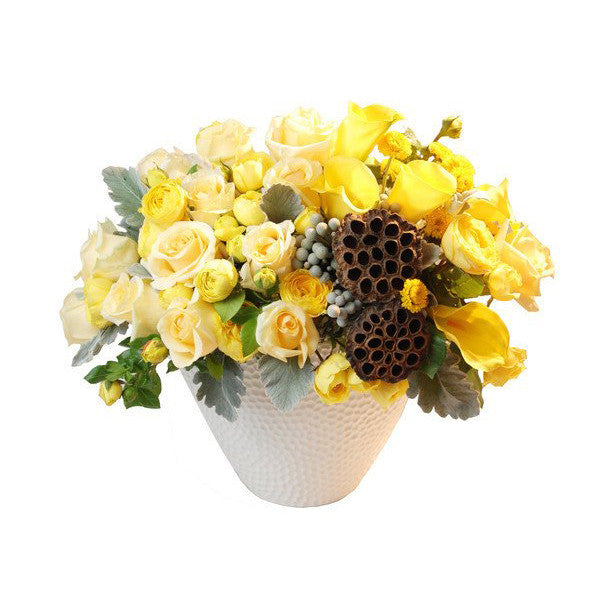 Summer luxury flower arrangement
