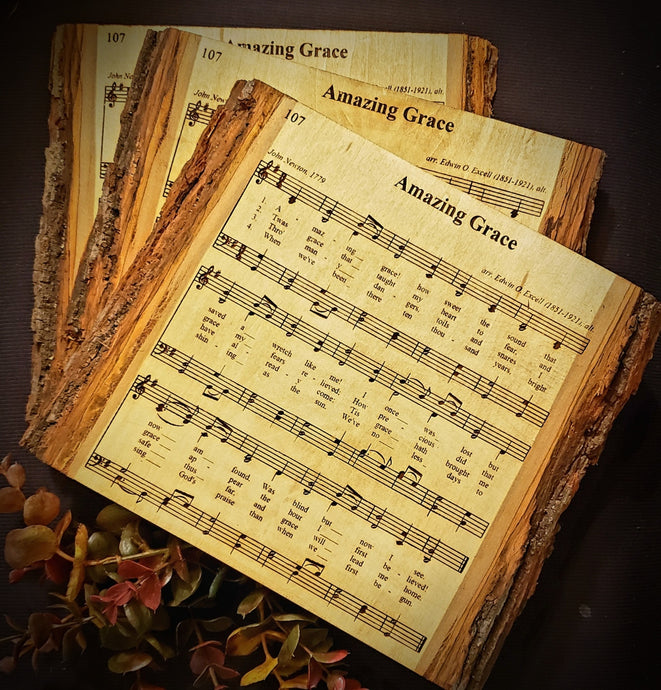 Engraved Hymns, Wedding Songs or Just a Favorite Tune