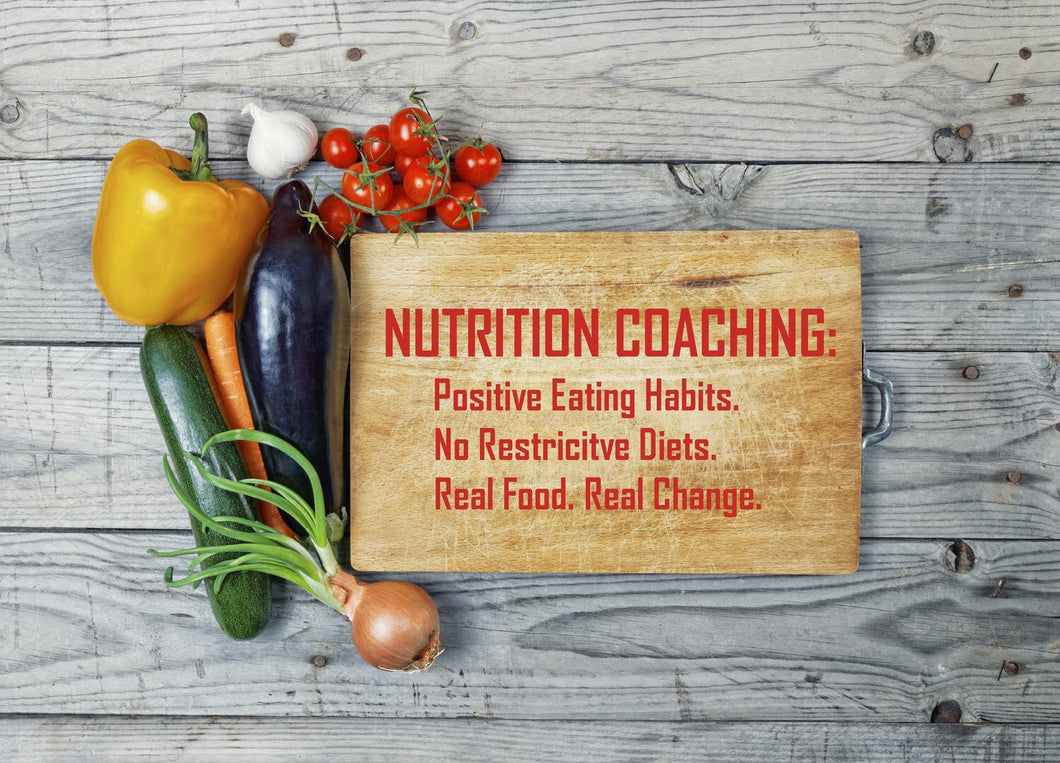 Nutrition Coaching - Initial 90 minute consultation
