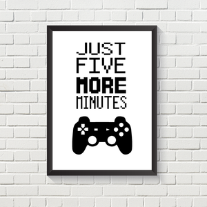 Gaming: 5 More Minutes