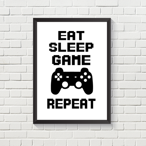 Gaming: Eat, Sleep, Repeat