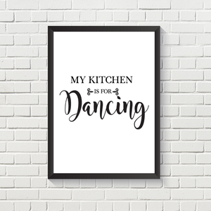 My Kitchen is for...