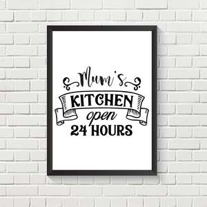 Kitchen Open 24 Hours