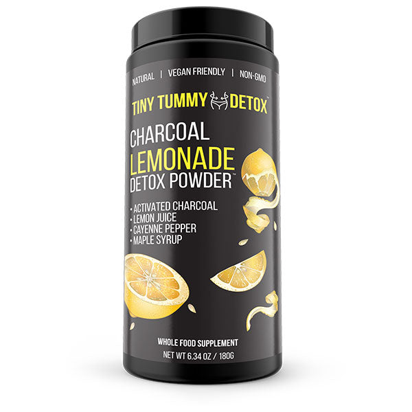 Charcoal lemonade detox powder - TinyTummyTea