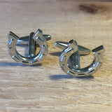 Silver Horseshoe Cufflinks