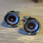 Red Roulette Table Cufflinks