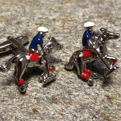 Polo Player Cufflinks