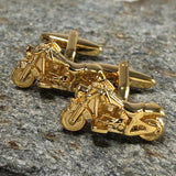 Golf Motorcycle Cufflinks