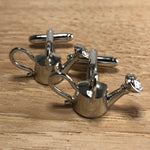 Silver Watering Can Cufflinks