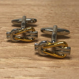 Square Knot Cufflinks