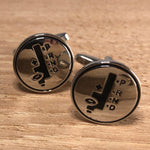 Silver Automatic Shift Cufflinks