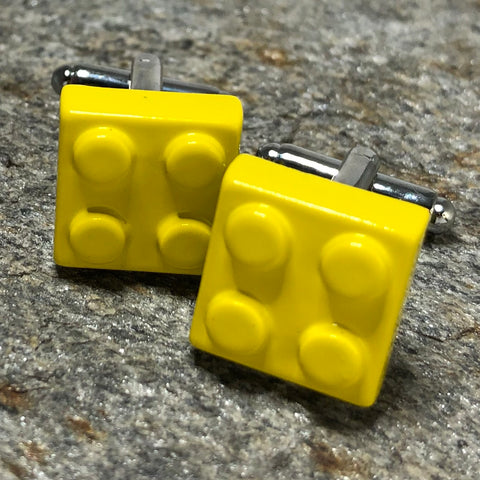 Yellow Brick Cufflinks