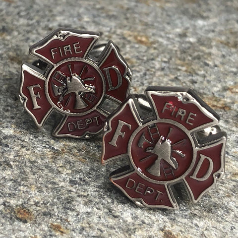 Fire Dept Cufflinks