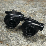 Black Car Turbo Cufflinks