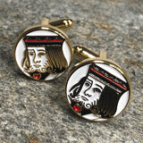 Playing Card Character Cufflinks
