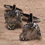 Silver Stingray Cufflinks