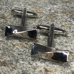 Twisted Block Cufflinks