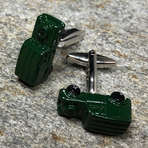 Green Army Truck Cufflinks