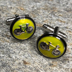 Bicycle Sign Cufflinks
