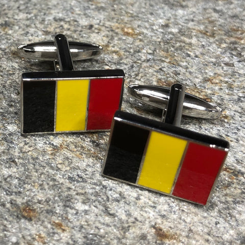 Belgian Flag Cufflinks