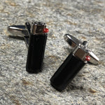 Black Lighter Cufflink