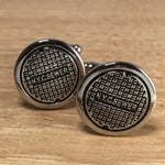 NYC Sewer Cufflinks