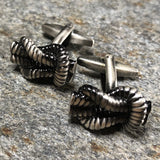 Silver Square Knot Cufflinks
