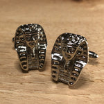 Silver Pharaoh Cufflinks