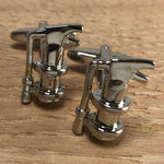 Silver Fire Extinguisher Cufflinks