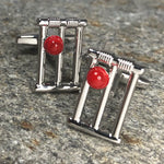 Cricket Stumps Cufflinks