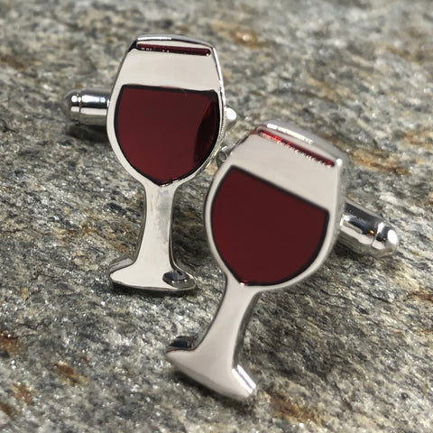 Wine Glass Cufflinks