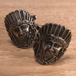 Indian in Headress Cufflinks
