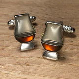 Whisky Glass Cufflinks
