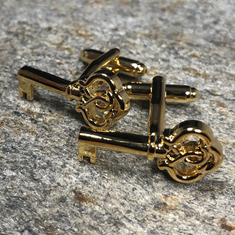 Gold Key Cufflinks
