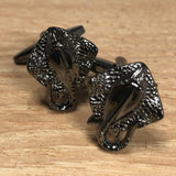 Gunmetal Stingray Cufflinks