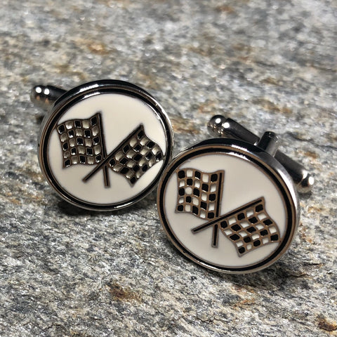 Racing Flag Cufflinks