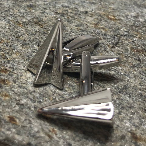 Paper Airplane Cufflinks