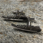 Black Feather Cufflinks