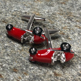 Retro Race Car Cufflinks