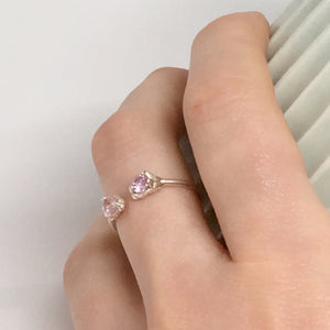 Seb Brown - Pink Cubic Zirconia Ring