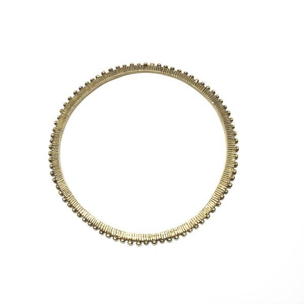 Abby Seymour — Brass Eclipse Bangle - Jewellery - Craft