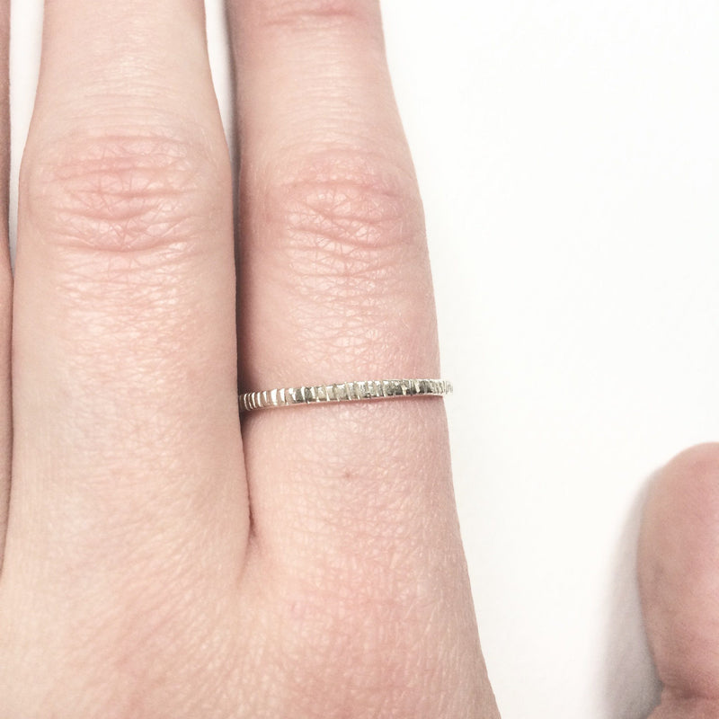Abby Seymour — Dashes Ring - Australian made Jewellery