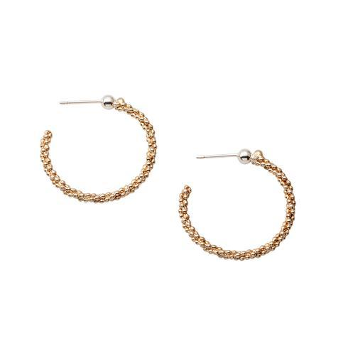 Abby Seymour — Seed Garland Hoops - Australian made Jewellery