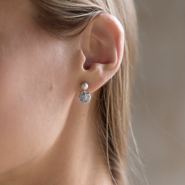 Abby Seymour — Silver Bloom Studs - Australian made Jewellery