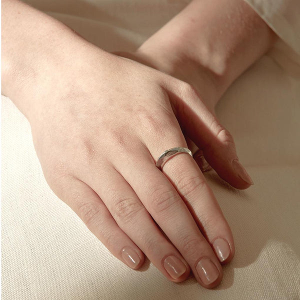 Abby Seymour — Silver Illume Ring - Australian made Jewellery