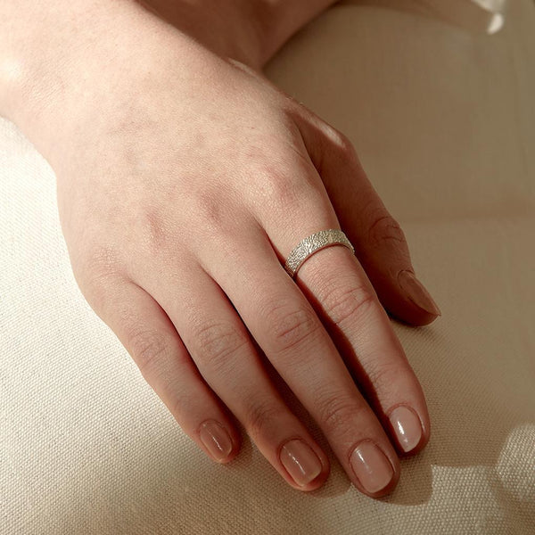 Abby Seymour — Silver Peak Ring - Australian made Jewellery