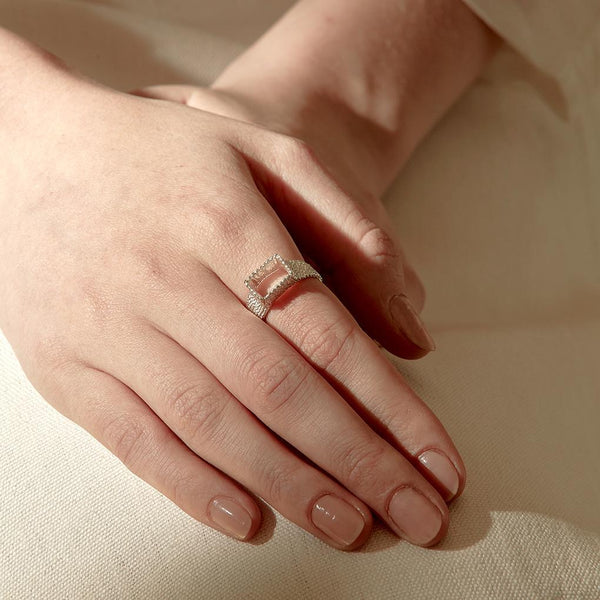 Abby Seymour — Silver Tetra  Ring - Australian made Jewellery