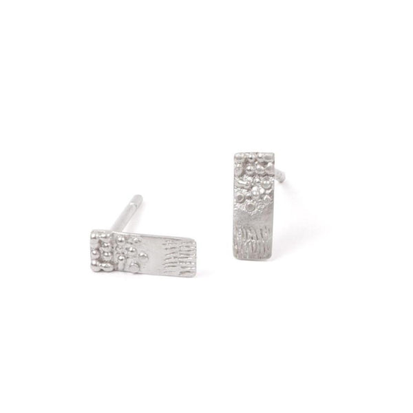 Abby Seymour — Sterling Silver Tuft Studs - Australian made Jewellery